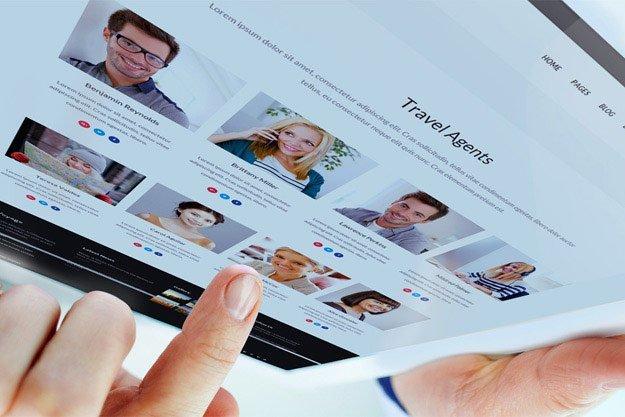 گرایش معرفی اعضای تیم در طراحی وب