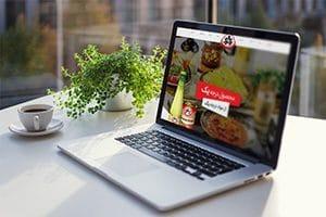 طراحی سایت صنایع غذایی یک و یک
