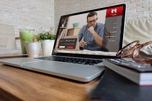 طراحی سایت شرکت مدیران 21